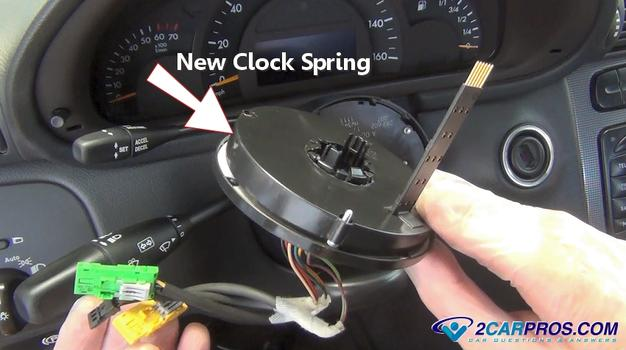 New Steering Wheel Clock Spring