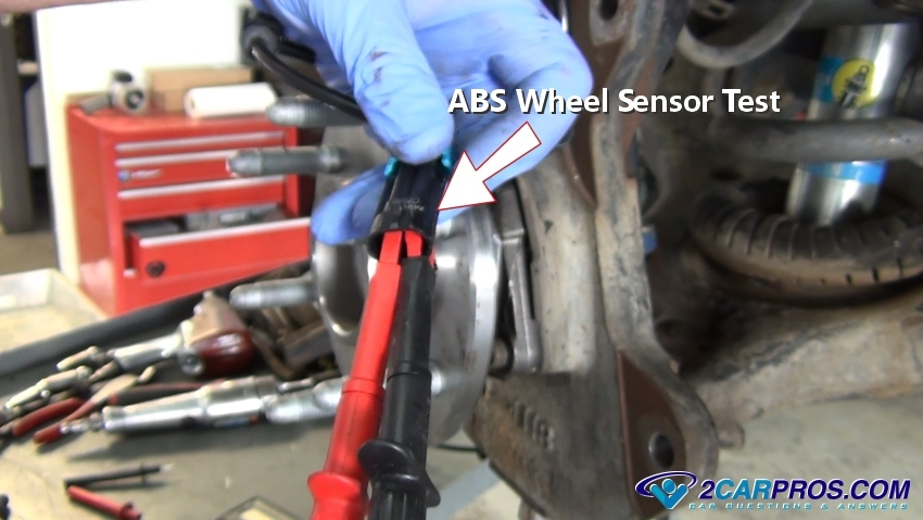 How to Fix an ABS Warning Light On in Under 15 Minutes Abs Wire Harness Repair on
