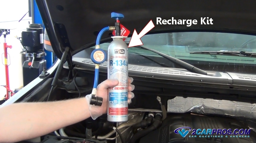 How To Use Car Ac Recharge Kit