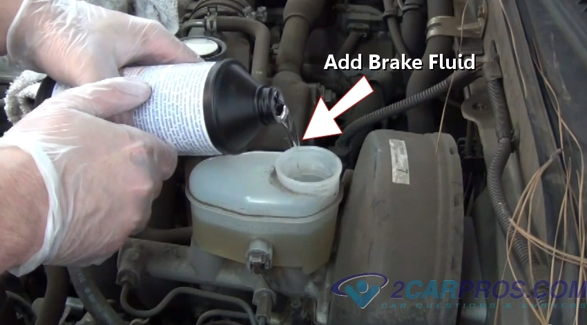 Adding Brake Fluid >> How To Replace Front Brake Pads And Rotors In Under 90 Minutes