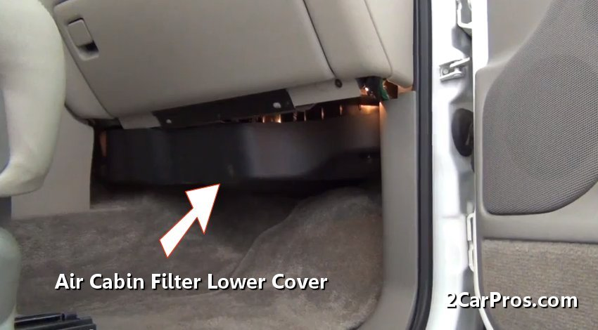 Car Repair World How To Replace Air Cabin Filter