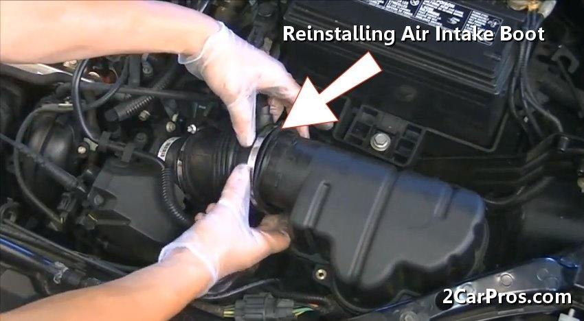 How to Replace an Air Intake in Under 20 Minutes