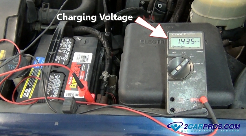 alternator charging voltage 523 how to test an alternator in under 10 minutes test car fuse box multimeter at edmiracle.co