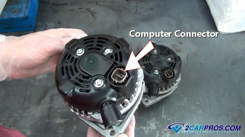 how to replace an alternator in under 30 minutes a wiring harness connector is used by the computer pcm to control and monitor the voltage regulator during variable engine speeds rpm s and voltage