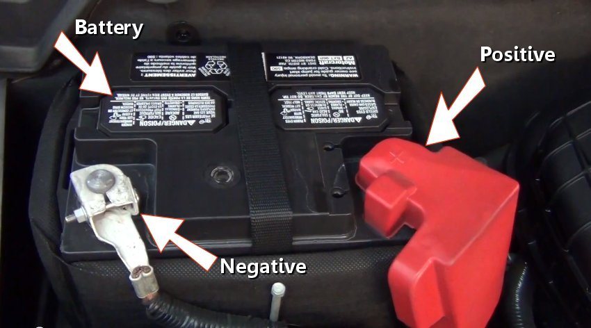 honda   replace battery honda tech
