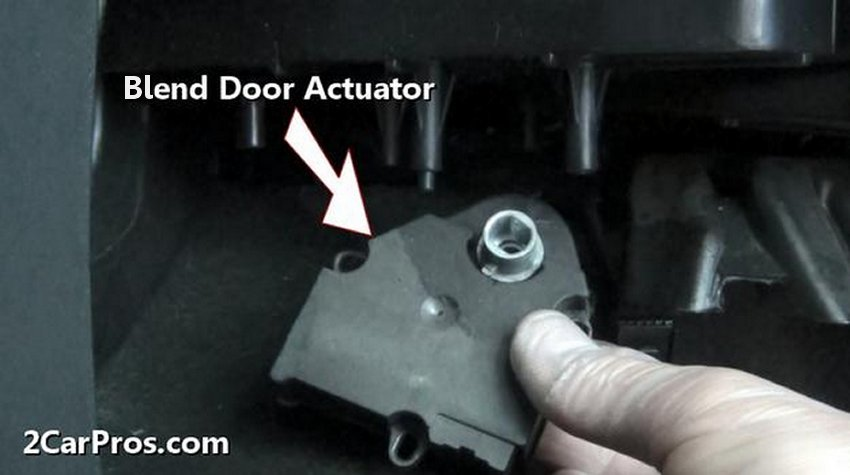 Blend Door Actuator on 1998 honda accord engine diagram