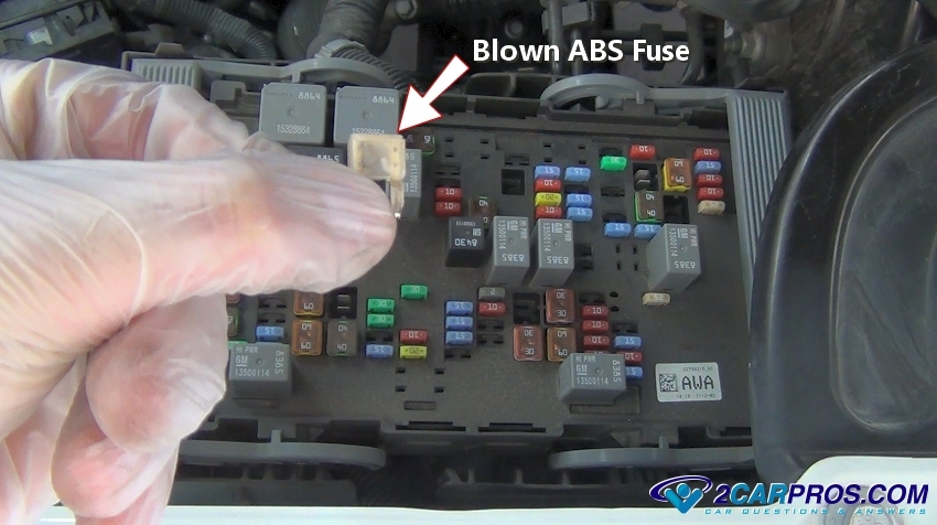 blown abs system fuse how to replace an abs fuse in under 5 minutes santro xing fuse box diagram at reclaimingppi.co