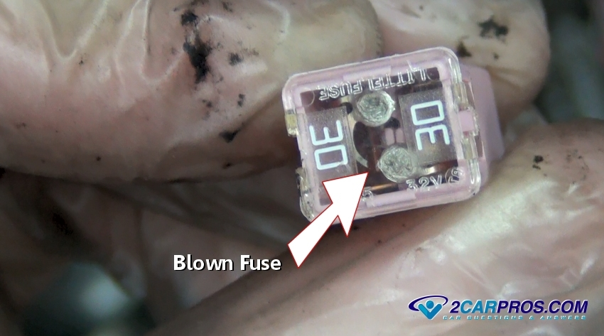 blown fuse how to replace a fuse in under 5 minutes how to fix a broken wire car fuse box at fashall.co
