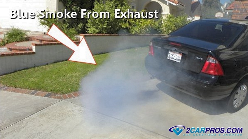 2010 ford f250 diesel blowing white smoke