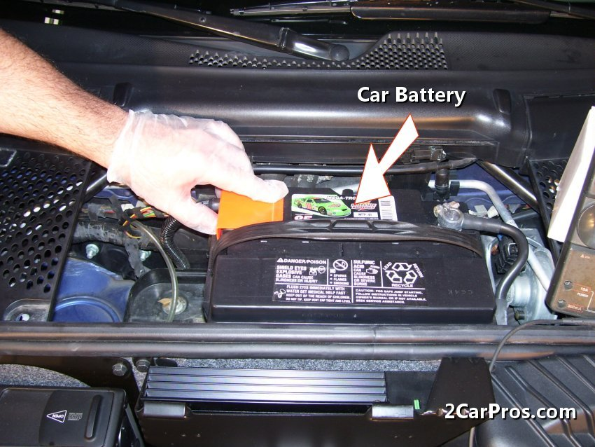 Car Battery Step 1 If The Alternator Has Failed It Will Allow