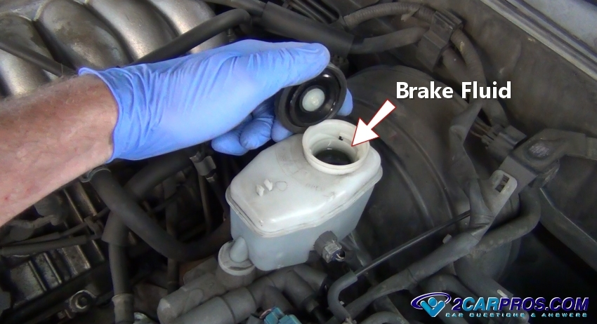 Checking Brake Fluid Level on 1999 Suburban Engine Diagram