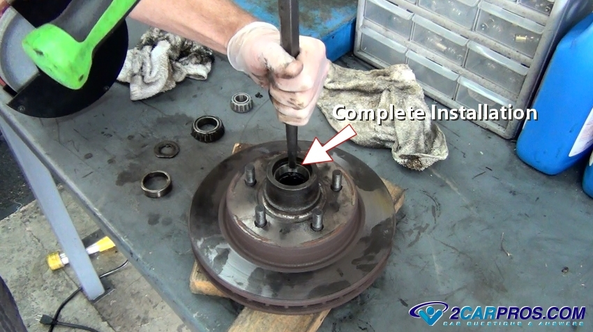 How to Replace Front Wheel Bearings and Seals in Under 1 Hour