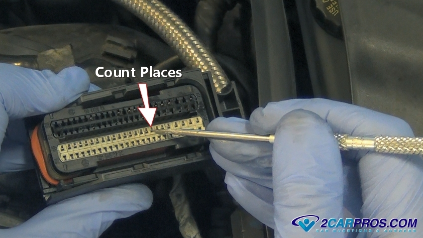 count pin places 2 how to test wiring in under 1 hour,How To Check Wiring Harness With Multimeter