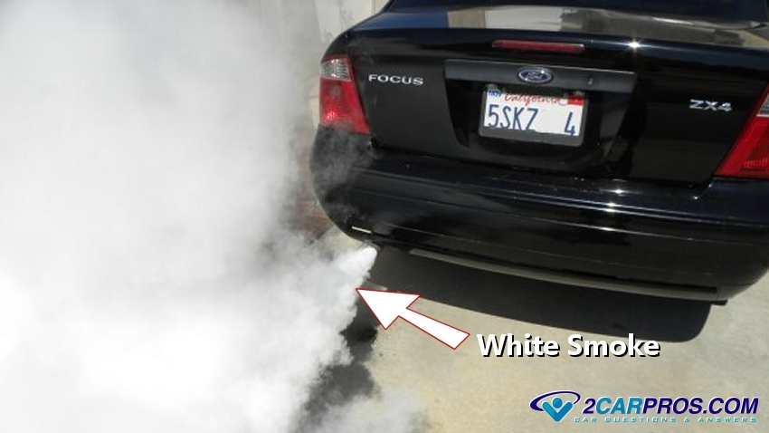 Why is White Smoke or Steam Coming from Exhaust?