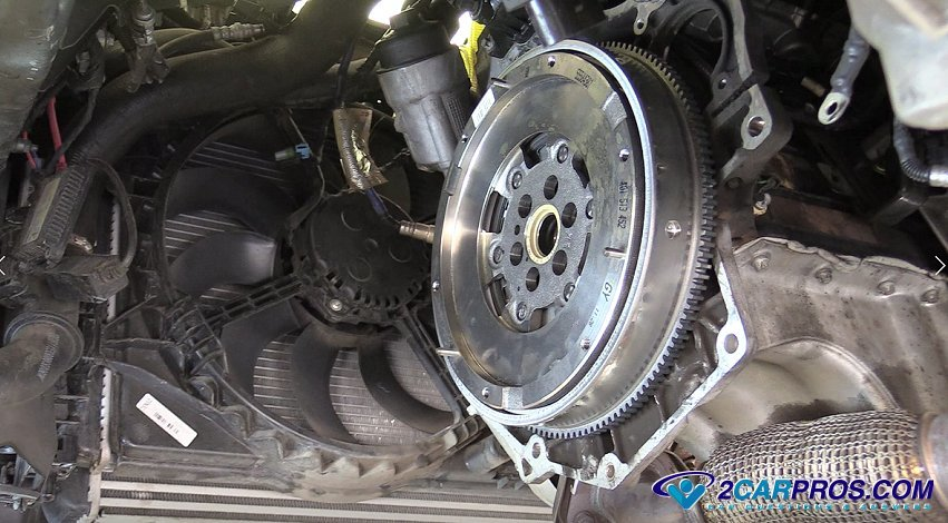 How To Replace Transmission >> How To Replace An Engine Flywheel In Under 4 Hours