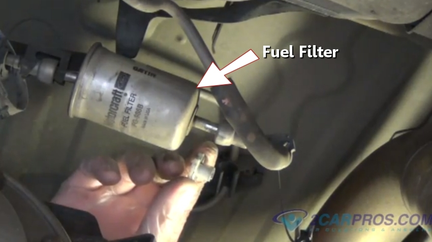 How To Fix An Engine Hesitation In Under 30 Minutesrh2carpros: 2001 Nissan Pathfinder Fuel Filter At Gmaili.net