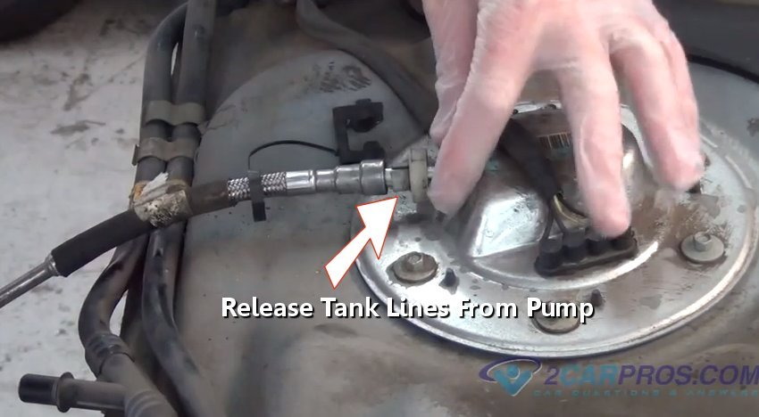 fuel_line_release_tool_34 how to replace a fuel pump in under 2 hours