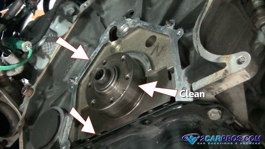 how to replace an engine rear main seal in under 4 hours rh 2carpros com Acura TSX JDM Acura TSX Air Conditioning