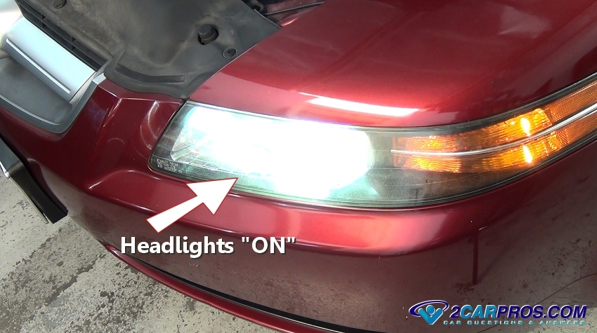 To Start The Battery Test Turn Headlights On And Leave Them For About 15 Minutes Do Not Engine