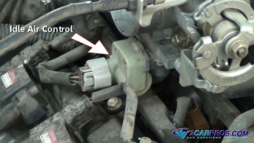 Ford F 150 Idle Air Control Valve Location on tacoma egr valve location
