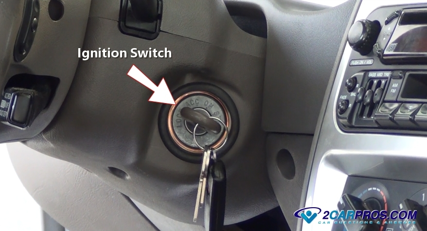 Ignition Switch on 2008 Ford Focus Ignition Lock Cylinder