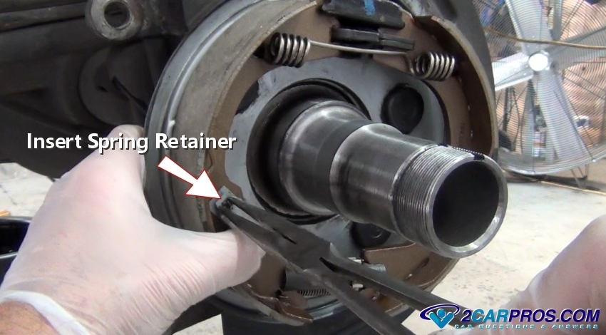 How To Change Parking Brake Shoes In