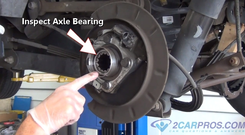 Car Repair World: Rear Axle Seal Replacement