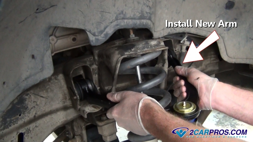 Install New Upper Control Arm on 2001 Dodge Dakota Ball Joint Kit