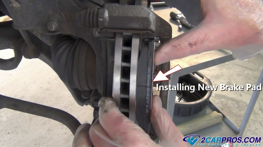 how to replace front brake pads and rotors in under 90 minutes. Black Bedroom Furniture Sets. Home Design Ideas