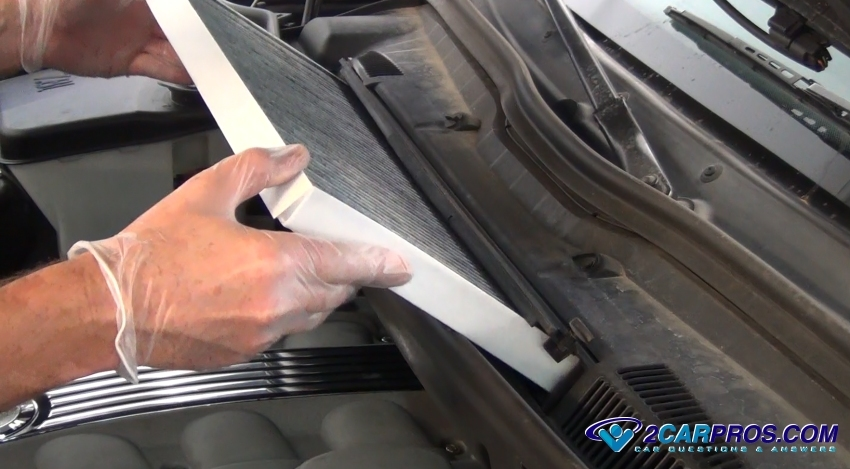 How To Change A Cabin Air Filter In Under 15 Minutesrh2carpros: 2003 Suburban Cabin Filter Location At Gmaili.net