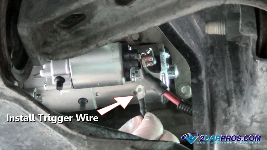 How To Change A Starter Motor In Under 45 Minutesrh2carpros: 2006 Mustang Starter Location At Gmaili.net