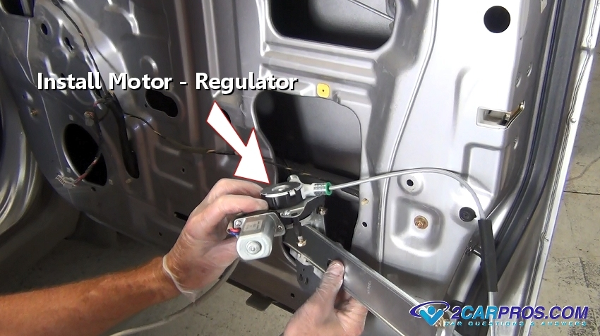 Car Repair World Window Motor And Regulator Replacement