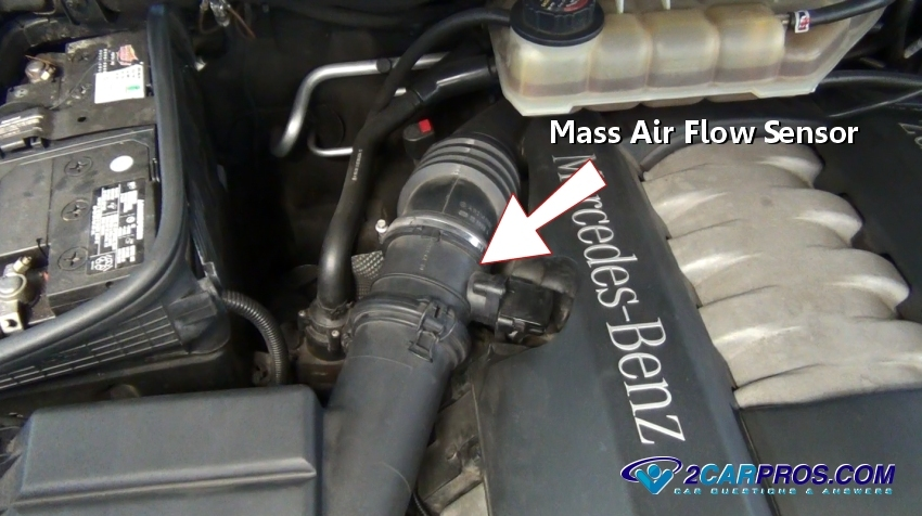 Mass Air Flow Sensor on Chevy Impala 3 8 Engine Diagram