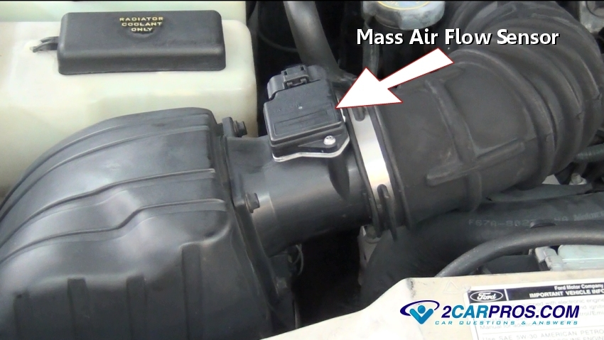 car repair world  how a mass air flow sensor works
