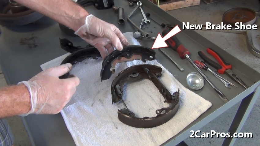 Brake Shoe Thickness In 32nds : How to replace brake shoes and drums in under minutes