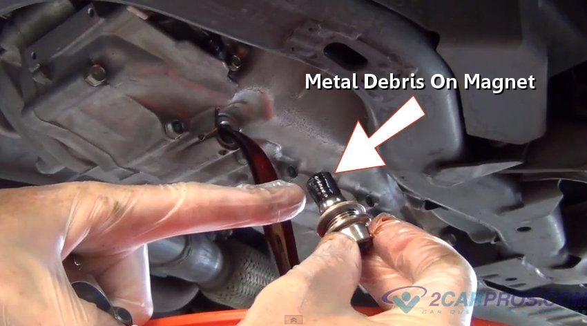 How To Drain Transmission Fluid >> How To Service An Automatic Transmission In Under 45 Minutes