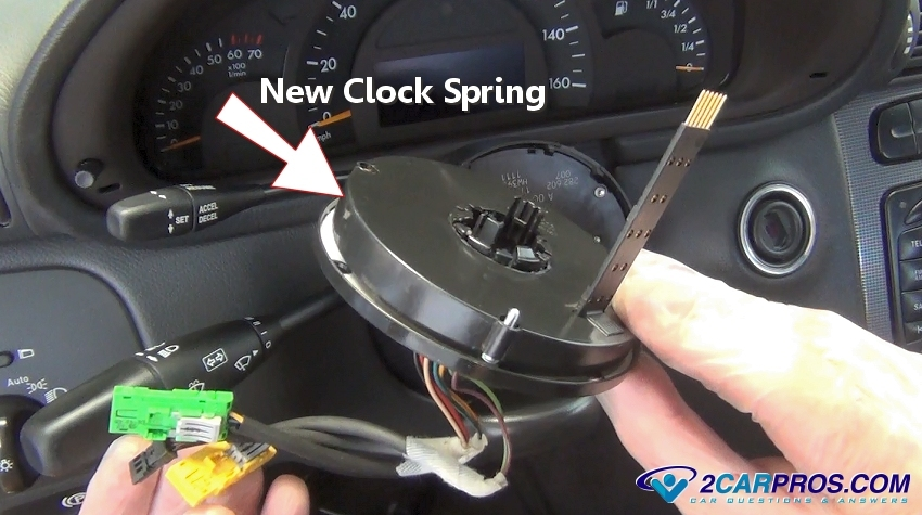 how to remove an airbag clock spring in under 30 minutes