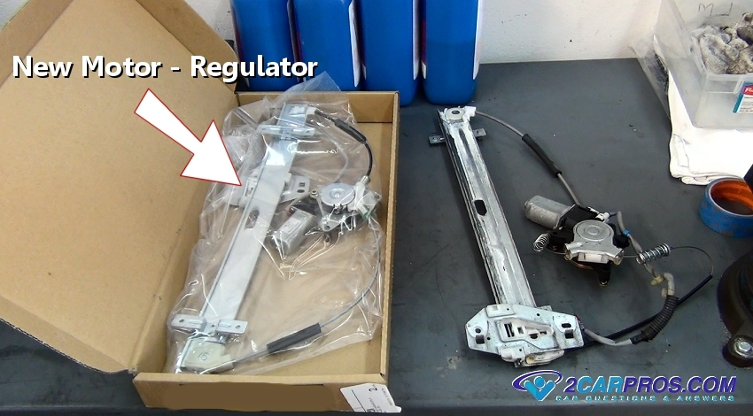 Car repair world window motor and regulator replacement for Electric window motor repair
