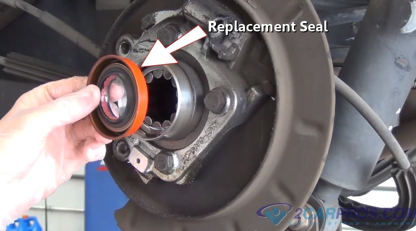 how to replace a rear axle bearing and seal in 90