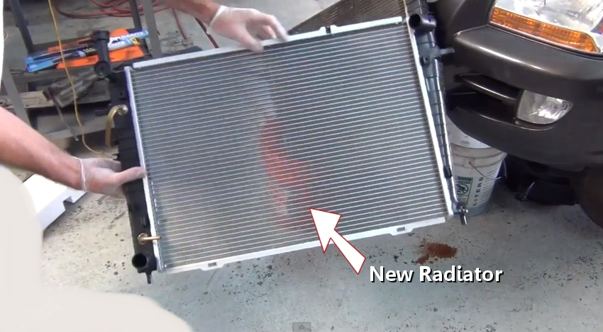 how to replace a radiator in under 45 minutes. Black Bedroom Furniture Sets. Home Design Ideas