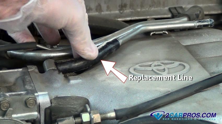toyota rav4 fuel tank diagram how to find a vacuum leak in under 15 minutes toyota rav4 fuse box diagram #5