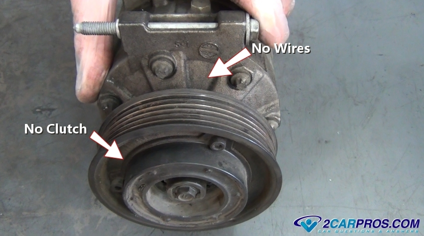 no clutch air conditioner compressor how to fix a car air conditioner in under 20 minutes  at bayanpartner.co