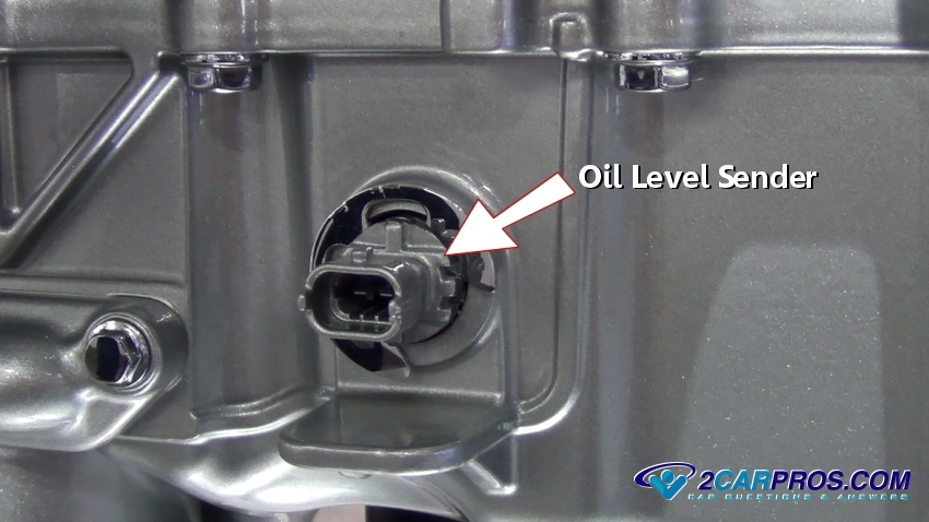 Oil Level Sender on Honda Civic Oil Filter Location