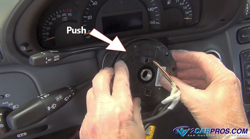 Peugeot 206 Clock Wiring Diagram : How to remove an airbag clock spring in under minutes
