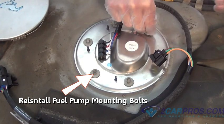 how to replace a fuel pump in under 2 hours GMC Fuel Line Disconnect Tool