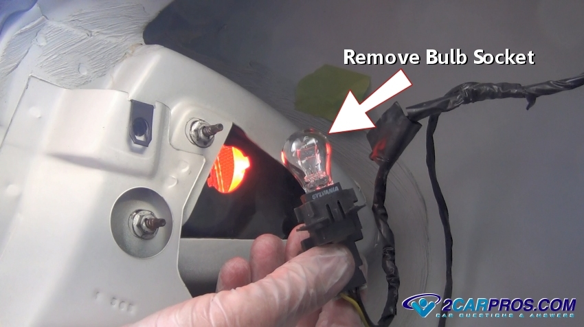 remove light bulb socket how to fix tail light problems in under 20 minutes Jetta Tail Light Bulb at mifinder.co