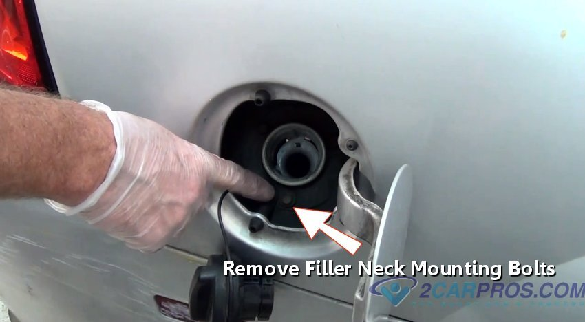 how to clean gas filler