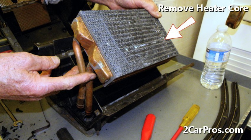 How to replace a heater core in under 3 hours for Floor 4 do not remove