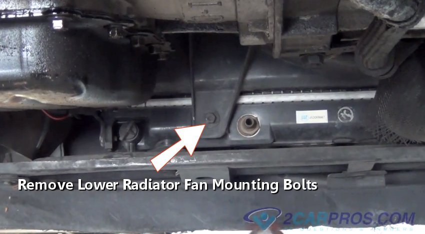 How to Replace a Radiator Cooling Fan Motor in Under 20 Minutes