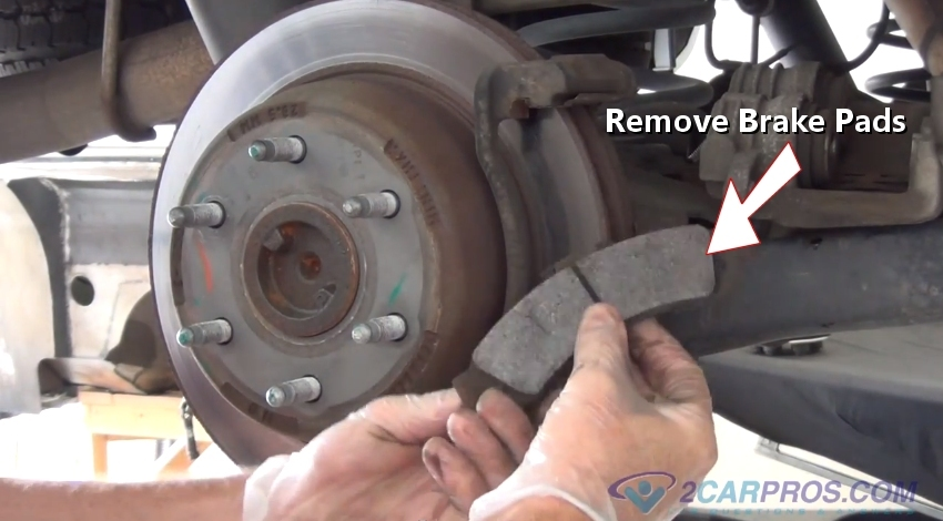 When To Replace Brake Pads >> How To Replace Rear Brake Pads And Rotors In Under 90 Minutes